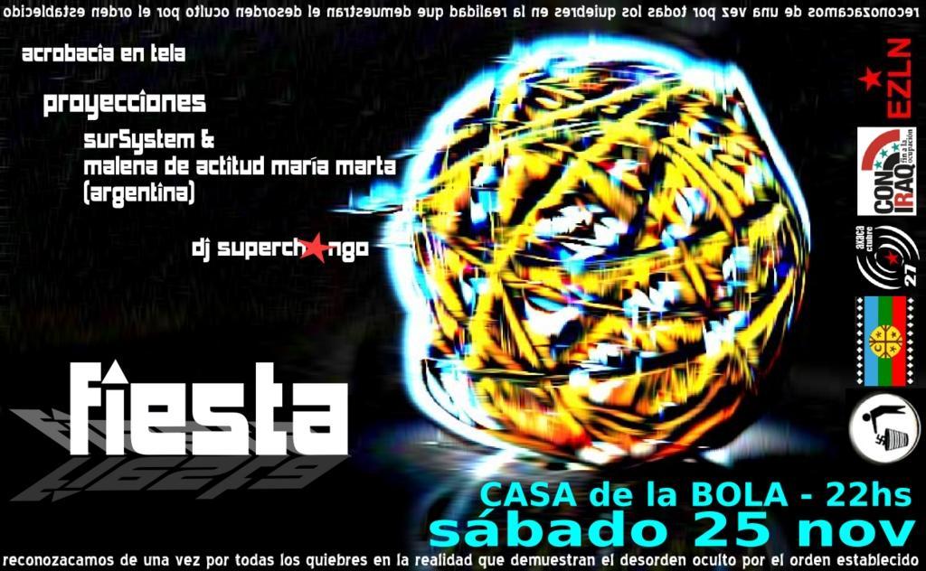Fiesta 25 nov