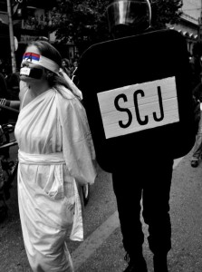 """""""La Justicia y la Suprema Corte""""."""