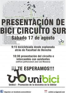 Presentación del Bici-circuito Sur