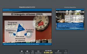 Consola de Presentación de Libreoffice