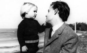 Eduardo Galeano y su hija